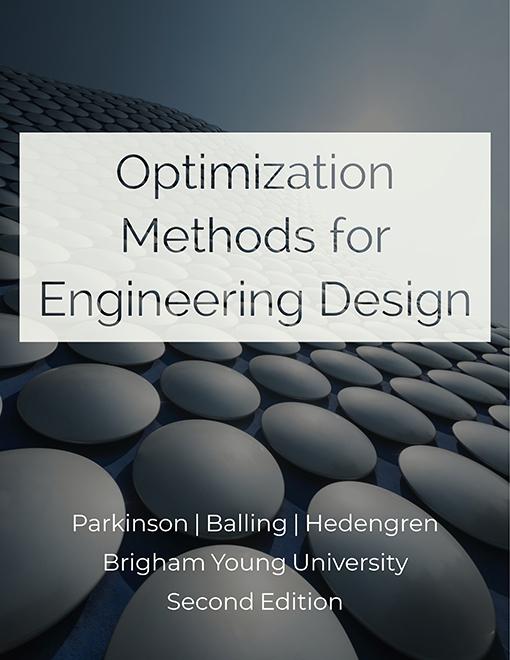 Design Optimization Textbook | Design Optimization